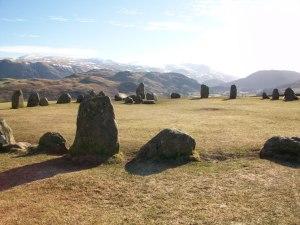 Stone circle at Keswick
